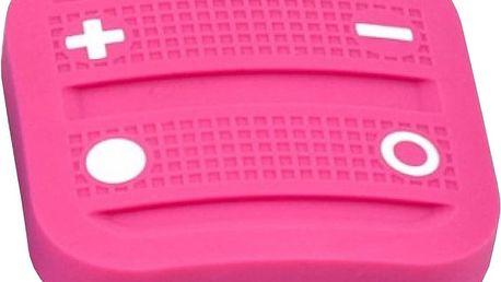 Fibaro NodOn Soft Remote, magnetické bateriové 4tlačítko na zeď, růžová - NO-CRC-3-6-05