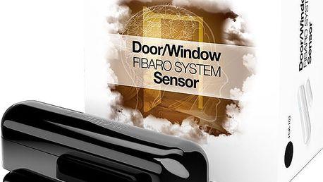 Fibaro Bateriový senzor na okna a dveře, černá - FIB-FGK-103-ZW5
