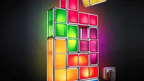 Skládací dekorační lampa Tetris