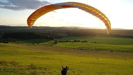 Minikurz paraglidingu v Moravskoslezském kraji