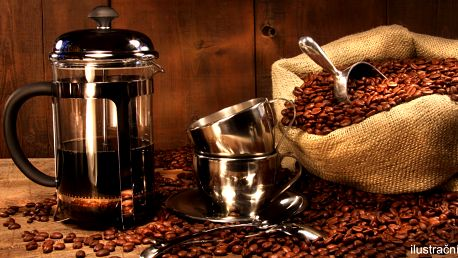 Dárková sada s french pressem pro milovníky kávy