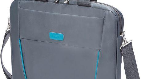 """DICOTA Slim Case BASE 14-15.6"""", šedá/modrá - D30998"""