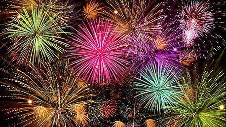 Oslavte Nový rok. Sestavený kompaktní ohňostroj s 226 ranami. Na výběr doručení domů nebo osobní odběr.