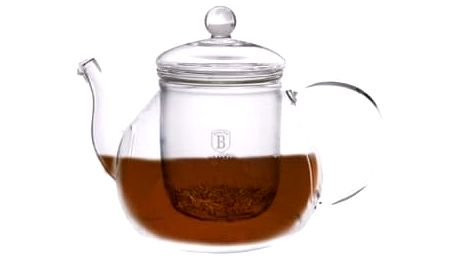 Konvička na čaj louhovací 1 l BLAUMANN BH-1363, Červená