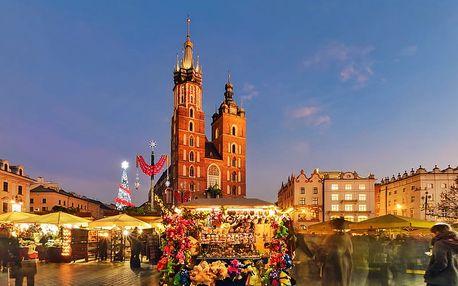 Zájezd do adventního Krakova za památkami i na vánoční trhy pro JEDNOHO