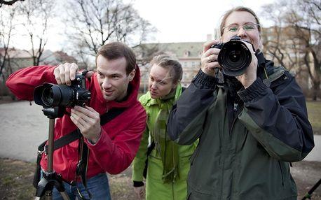 Víkendový kurz - základy fotografie