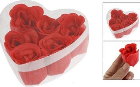 Sada romantických mýdel Roses