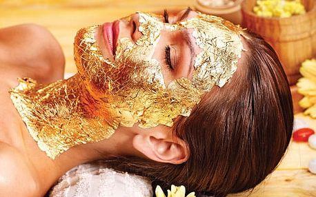 Luxusní ošetření 24karátovým zlatem