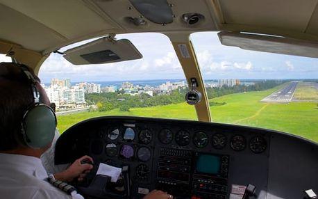 Exkluzivní řízení letadla na zkoušku v Jihomoravském kraji
