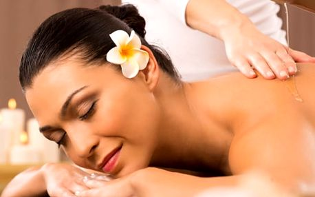 Tibetská aroma masáž v délce 70 minut. Totální relaxace a uvolnění v salonu Ráj Plzeň!!
