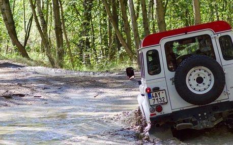 Offroad trénink v terénních vozech