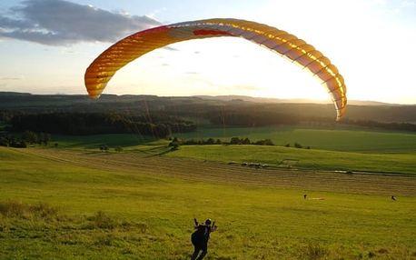 Minikurz paraglidingu v Libereckém kraji