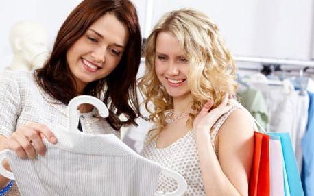 Změna image s nakupováním v Libereckém kraji
