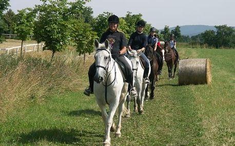 Vyjížďka na koni do přírody
