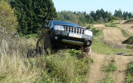 Extreme jízda v Jeepu v Moravskoslezském kraji