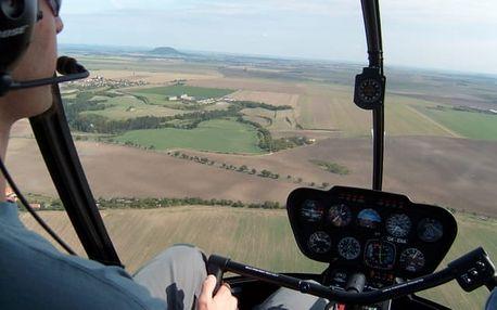 Pilotem vrtulníku v Královehradeckém kraji