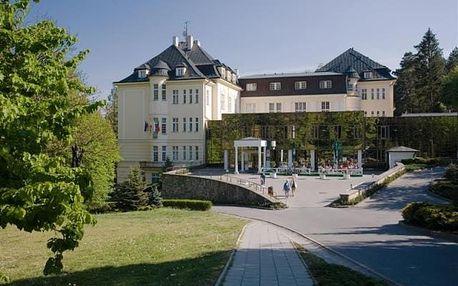 Pětidenní lázeňský pobyt na Moravě