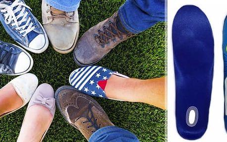 Gelové vložky do bot včetně poštovného, perfektní pomůcka nejen při běhu či sportování, ale i pro pohodlné procházky. Tyto vložky naplněné gelem vám poskytnou lehkost a pohodlí. Vložky účinně tlumí nárazy a pomáháhají snižovat nadměrný tlak vznikající při