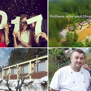 Tématický Silvestr ve wellness relax areálu Hnačov