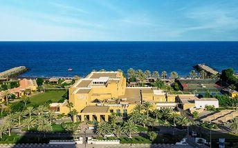 Silvestr u moře: Spojené arabské emiráty - Fujairah na 8 dní, snídaně s dopravou letecky z Prahy