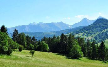 Slovensko, Zamagurie: až 4denní pobyt pro 1 os. v luxusní chatě + snídaně, bazén, wellness,