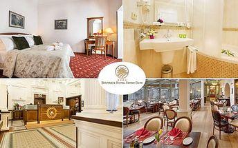 Pobyt v centru Prahy na 3 dny se snídaní v Boutique Hotelu Seven Days****