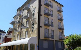 Hotel ANNY, Itálie, Benátská riviéra, 8 dní, Vlastní, Polopenze, Neznámé, sleva 10 %