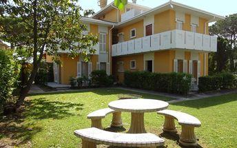 Rezidence LE PLEIADI, Itálie, Benátská riviéra, 8 dní, Vlastní, Bez stravy, Neznámé, sleva 10 %