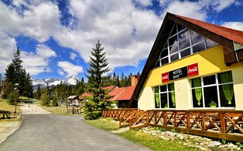 3–5denní pobyt pro 2 + 1 dítě v hotelu Rysy*** ve Vysokých Tatrách s možností silvestra