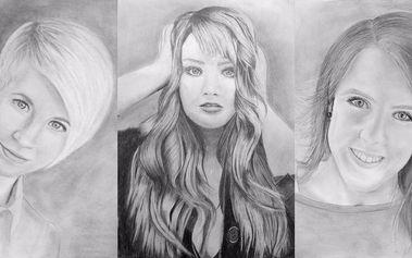 Portrét za dva dny – výtvarný kurz kreslení