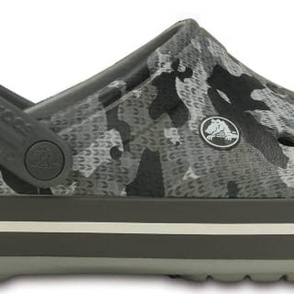 Crocs Crocband Camo Clog Charcoal, dostupné velikosti 42-47
