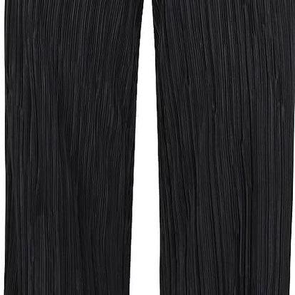 Černé plisované kalhoty SisterS Point Nicca