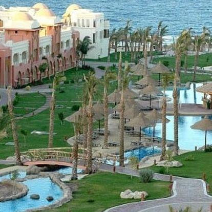 Silvestr u moře: Egypt - Hurghada na 8 dní, all inclusive s dopravou letecky z Bratislavy nebo z Vídně
