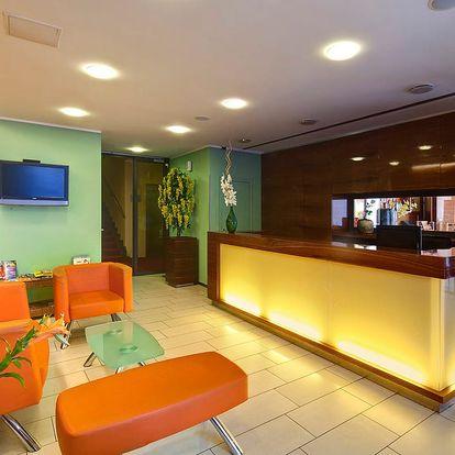 4* Hotel Ehrlich nedaleko centra Prahy pro dva s dítětem do 12 let a parkováním zdarma