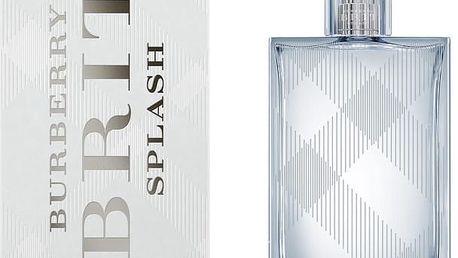 Burberry Brit Splash For Him - toaletní voda s rozprašovačem 50 ml