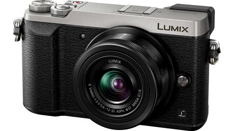 Panasonic Lumix DMC-GX80, stříbrná + 12-32 mm - DMC-GX80KEGS