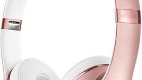 Beats Solo3 Wireless On-Ear - růžově zlaté (MNET2ZM/A)
