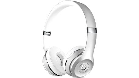 Beats Solo3 Wireless On-Ear (MNEQ2ZM/A) stříbrná