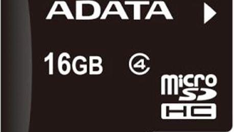 ADATA Micro SDHC 16GB Class 4 - AUSDH16GCL4-R