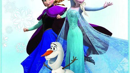 Fleece dečka Frozen Enjoy (Ledové království) 110x140cm