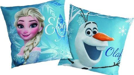 Polštářek Frozen Enjoy (Ledové království) 40x40 cm