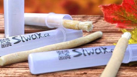 Zoubky jako perličky: Přírodní kartáčky Siwak