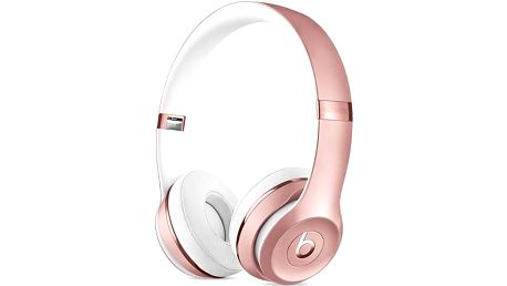 Beats Solo3 Wireless On-Ear - růžově zlaté (MNET2ZM/A) růžová