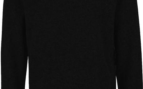 Černý vlněný svetr Selected Homme Busk