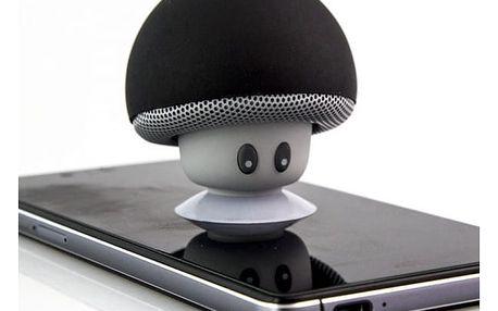 Bluetooth reproduktor - houbička s přísavkou
