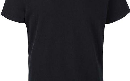 Černé triko s kulatým výstřihem Selected Homme Magne