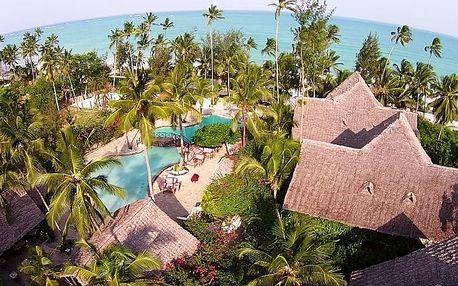 Silvestr u moře: Zanzibar - Uroa na 8 dní, light all inclusive s dopravou letecky z Prahy