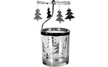 Vánoční svícen s kolotočem - Stromeček