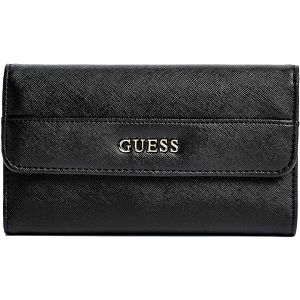Guess Elegantní peněženka Alessandra Slim Wallet Black
