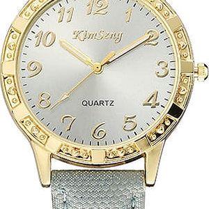 Elegantní dámské hodinky s kulatým ciferníkem - 4 barvy